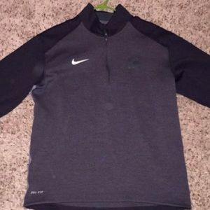Nike Michigan State Coaches Quarter Zip